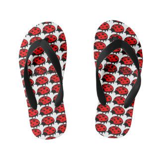 Roter Marienkäfer Kinderbadesandalen