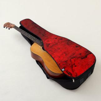 Roter Marmor Gitarrentasche