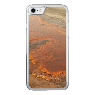 Roter Mineralwasseryellowstone-Park Carved iPhone 8/7 Hülle