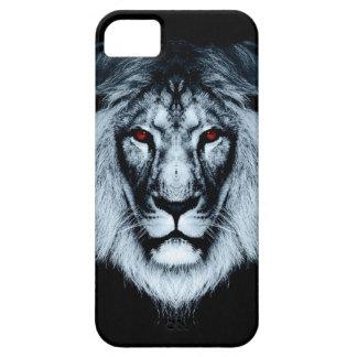 Roter mit Augen Löwe iPhone Kasten iPhone 5 Hülle