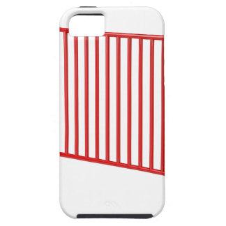 Roter mobiler Zaun iPhone 5 Case