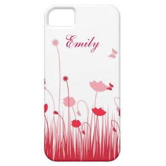Roter Mohnblumen iPhone 5 Kasten iPhone 5 Schutzhülle