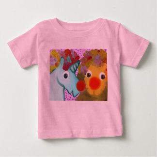 Roter Nasen-Tag Baby T-shirt