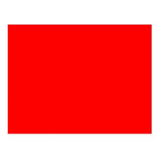 Roter Normallack Postkarte
