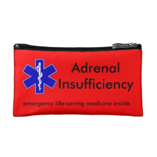 Roter Notausrüstungs-Kasten: Lebensrettende Makeup-Tasche