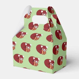 Roter Panda Geschenkschachtel