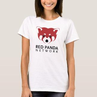 Roter Panda-Logo-T-Stück T-Shirt