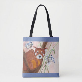 Roter Panda Tasche