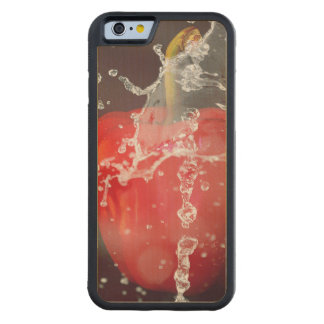 Roter Pfeffer-Spritzen Bumper iPhone 6 Hülle Ahorn