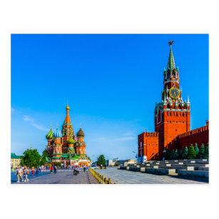 Roter Platz von Moskau Postkarte