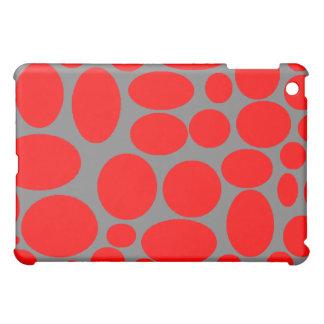 Roter Punkt Ich-Auflage Fall iPad Mini Hülle