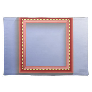 Roter Rahmen Tischset