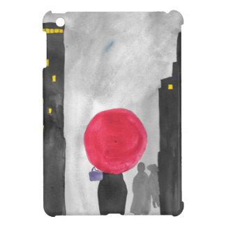Roter Regenschirm iPad Mini Hülle