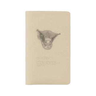 Roter Schläger-Notizbuch Großes Moleskine Notizbuch