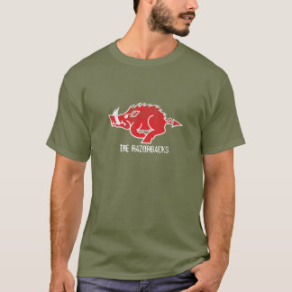 Roter Schwein-T - Shirt