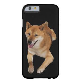 Roter Shiba Inu Hundetelefon-Kasten Barely There iPhone 6 Hülle