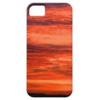 Roter Sonnenuntergang iPhone 5 Schutzhüllen