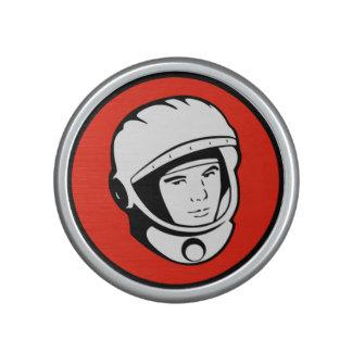 Roter sowjetischer Kosmonaut Bumpster Lautsprecher