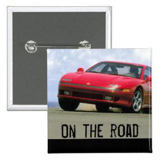Roter Sportwagen - Mitshubishi