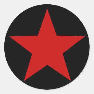 Roter Stern Sticker
