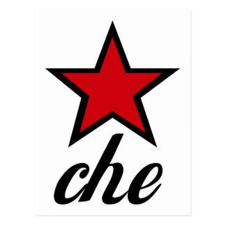 Roter Stern Che Guevara! Postkarte