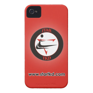 Roter Stern-Kampfkünste iPhone Kasten iPhone 4 Case-Mate Hülle