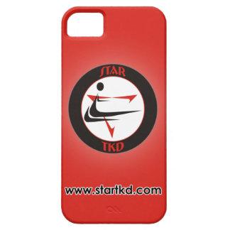 Roter Stern-Kampfkünste iPhone Kasten iPhone 5 Etuis