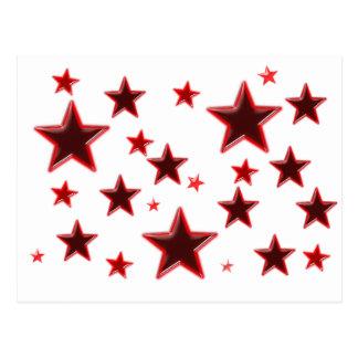 Roter Stern Postkarten
