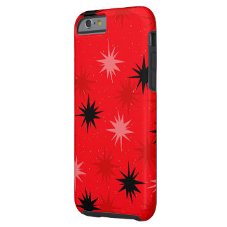 Roter Sternexplosionen iPhone 6/6S Atomarkasten Tough iPhone 6 Hülle