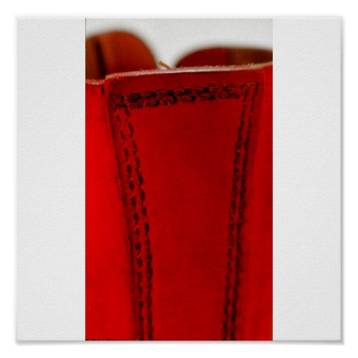 Roter Stiefel 03 Plakat