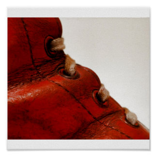 Roter Stiefel 06 Plakat