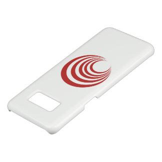 Roter Strudel-Telefon-Kasten Case-Mate Samsung Galaxy S8 Hülle