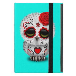 Roter Tag der toten Baby-Eule Etui Fürs iPad Mini