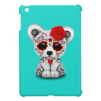 Roter Tag des toten Baby-Eisbären iPad Mini Hülle