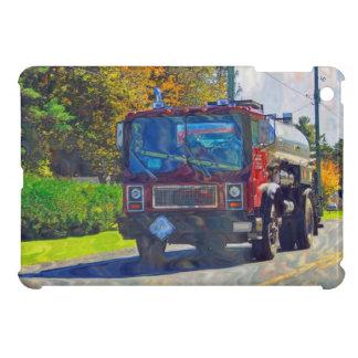 Roter Tanker-LKW für LKW-Liebhaber iPad Mini Hülle