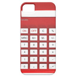 Roter Taschenrechnertaschenrechner Barely There iPhone 5 Hülle