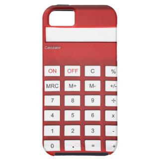 Roter Taschenrechnertaschenrechner iPhone 5 Hülle