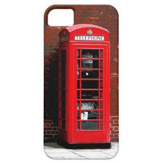Roter Telefon-Kasten London England Großbritannien Barely There iPhone 5 Hülle