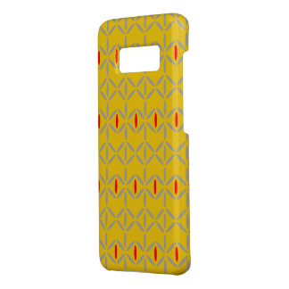 Roter Telefonkasten des flippigen Senfgelbs Case-Mate Samsung Galaxy S8 Hülle