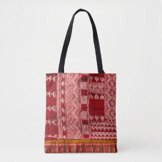 Roter Teppich am Markt Tasche