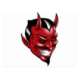 Roter Teufel Postkarte