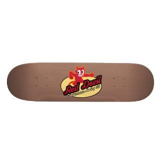 Roter Teufel-Skateboard Skateboardbrett