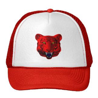 Roter Tiger Retrokultcap
