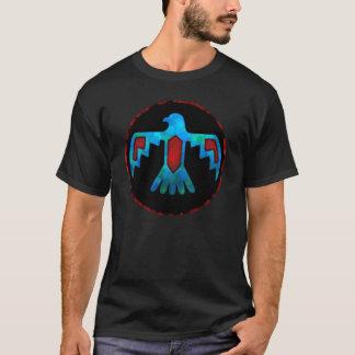 Roter u. blauer Thunderbird-T - Shirt