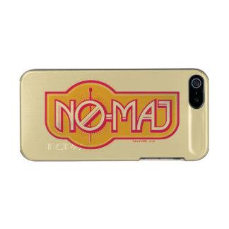 Roter u. gelber NO-Major Badge Incipio Feather® Shine iPhone 5 Hülle