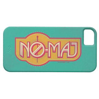 Roter u. gelber NO-Major Badge iPhone 5 Etui