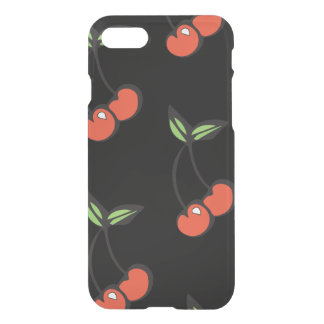 Roter u. grüner Kirscheiphone 7 Kasten iPhone 8/7 Hülle