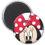 Roter u. weißer Minnie 2 Magnete