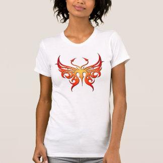 Roter und gelber Schmetterlingsbehälter! T-Shirt