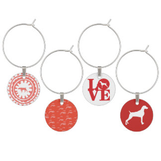 RED AND WHITE WEIM CHARMS